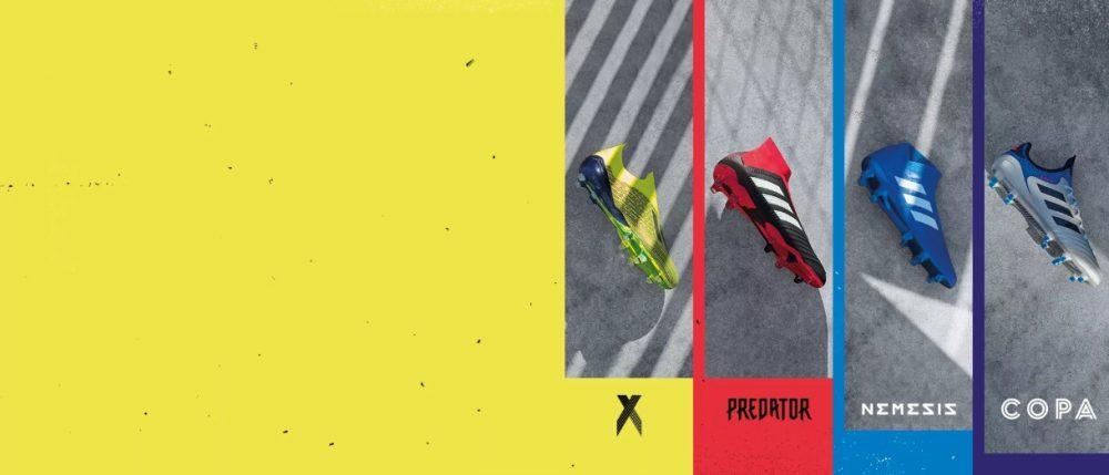 Adidas apresenta novas chuteiras de Lionel Messi, Salah, Pogba e Gabriel Jesus