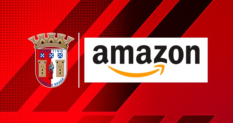 Após Napoli, SC Braga lança loja oficial na Amazon