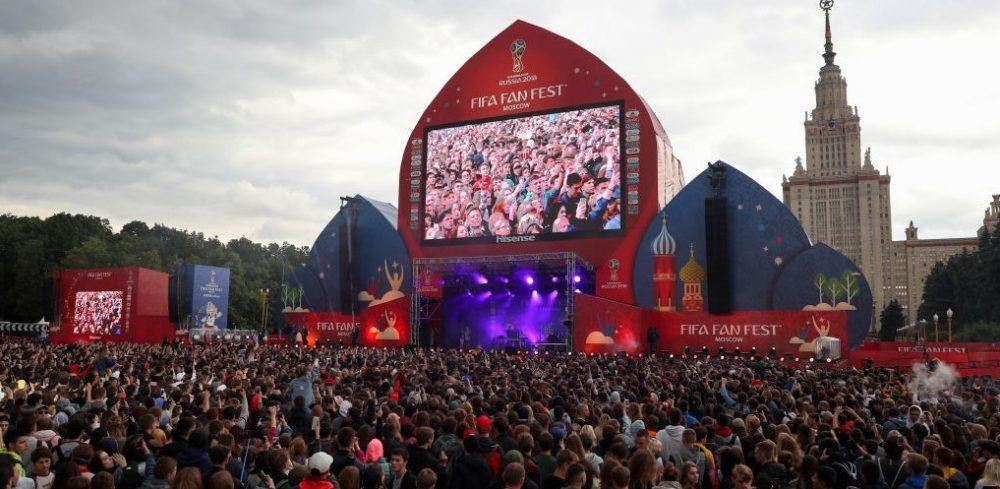 FIFA comemora sucesso e números das Fan Fests na Copa da Rússia