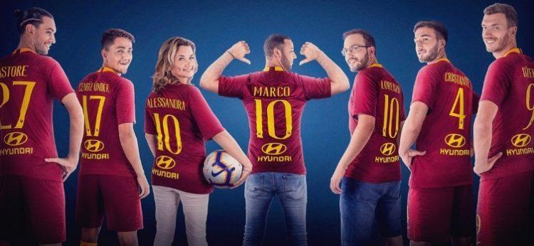 AS Roma fecha patrocínio para barra de trás da camisa com Hyundai