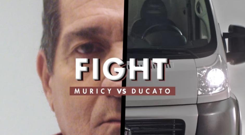 Fiat embarca em bordão de Muricy Ramalho e o escala para promover Ducato 2018