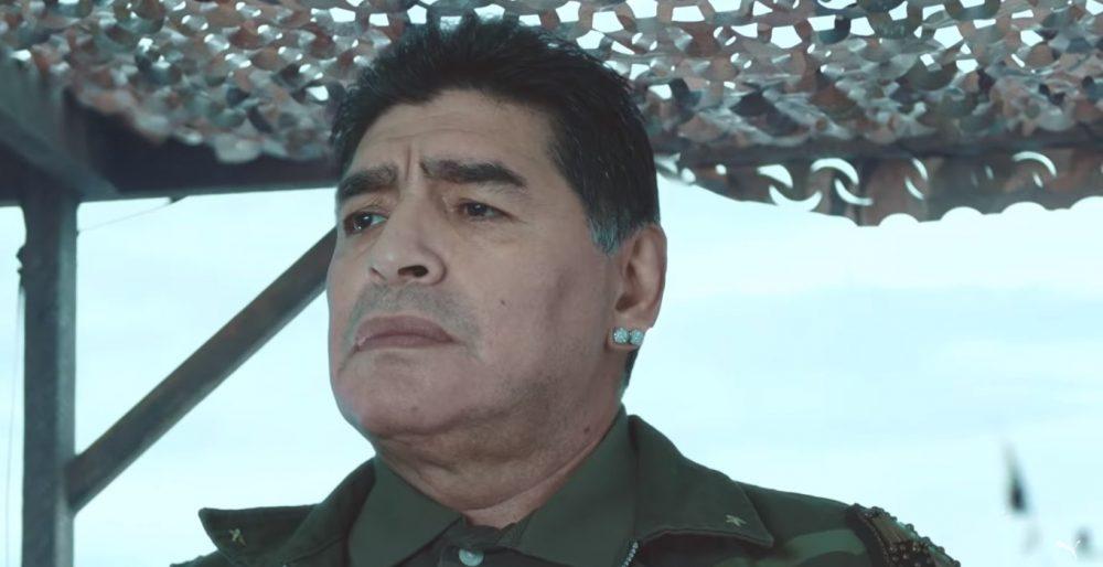 Com Maradona, PUMA traz superprodução para lançar novos uniformes do Olympique Marseille