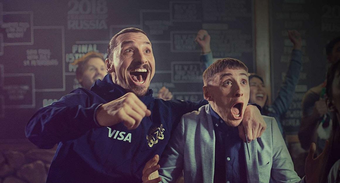 Ibrahimovic desbanca convocados e é o segundo mais citado em vitória da Suécia