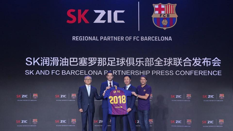 FC Barcelona anuncia nova parceira regional