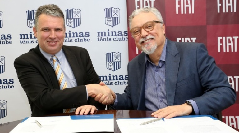 Fiat é a nova patrocinadora máster do vôlei masculino do Minas Tênis Clube