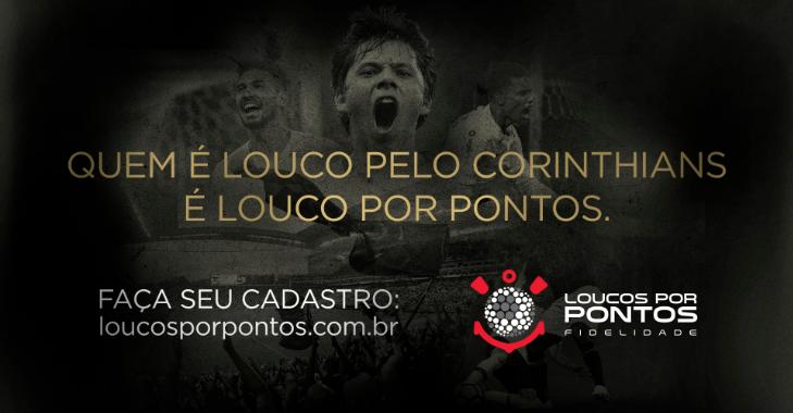 """Corinthians apresenta programa de fidelidade """"Loucos por Pontos"""""""