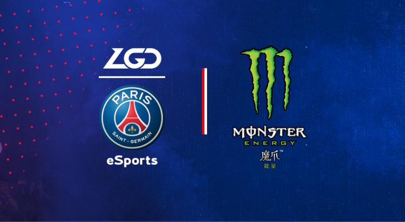 PSG anuncia patrocínio da Monster Energy para sua equipe de eSports