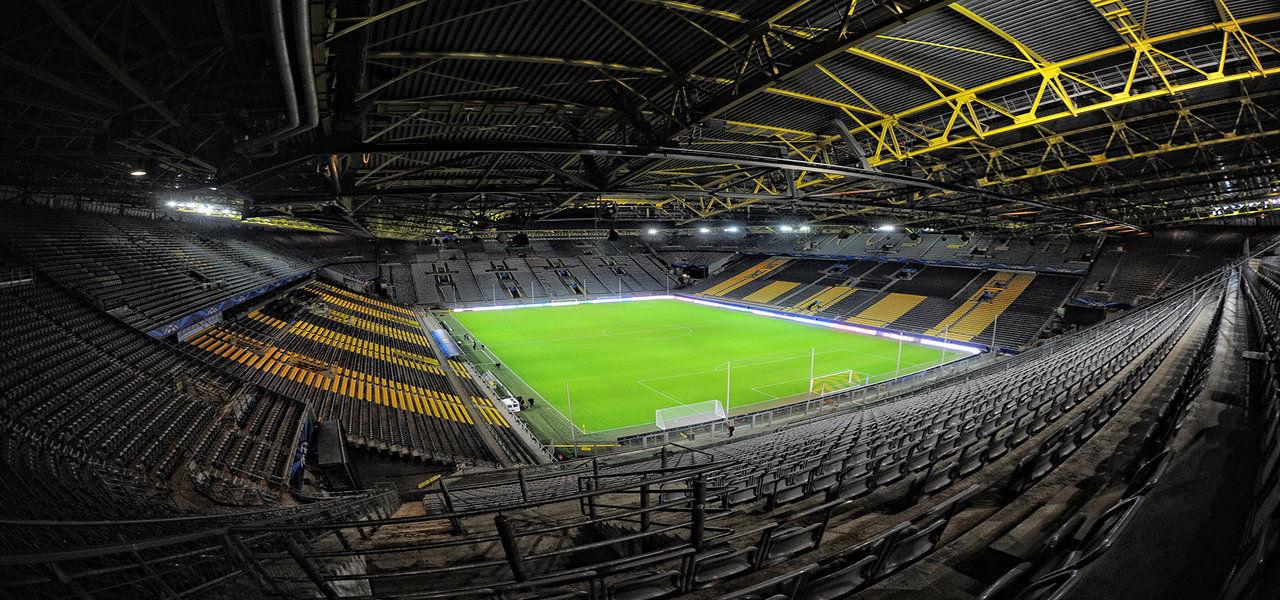 Borussia Dortmund terá publicidade virtual em seus jogos na Bundesliga