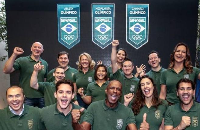 COB lança selo para homenagear os atletas olímpicos do Brasil