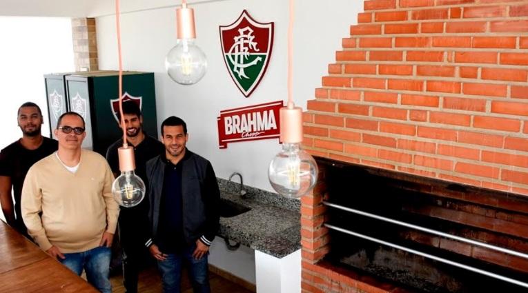 Brahma banca academia e espaço de convivência no CT do Fluminense