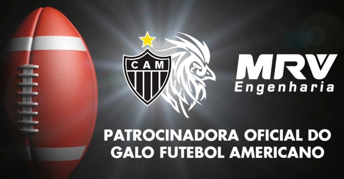 MRV amplia parceria e patrocinará equipe de futebol americano do Atlético-MG