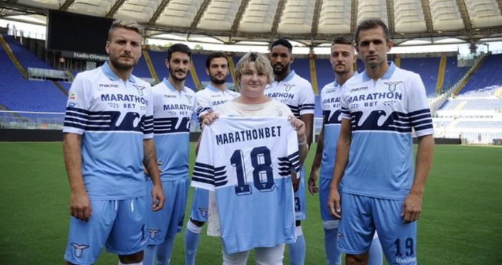 Com proibição de casa de apostas, Lazio fecha patrocínio máster de curta duração
