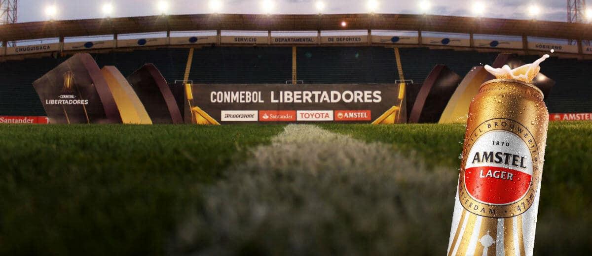 Em nova campanha, Amstel celebra a paixão do torcedor pela Libertadores