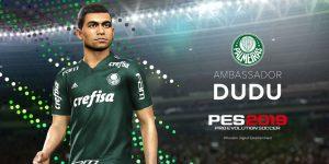 Com Dudu como embaixador, Konami torna-se patrocinadora do Palmeiras
