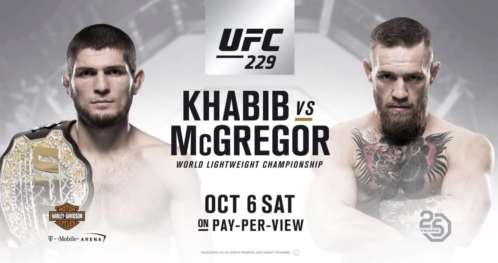 Estrela do UFC, Conor McGregor faz UFC 229 ser um fenômeno de receita
