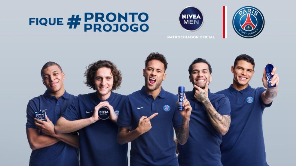 Nivea ativa patrocínio ao PSG em nova plataforma de conteúdo