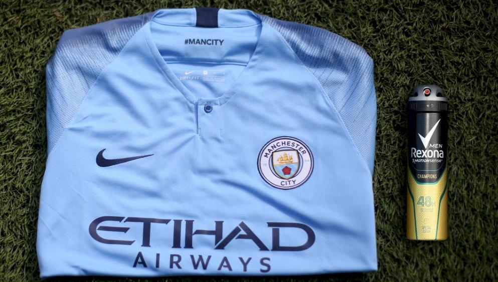 Rexona é a nova parceira global do Manchester City