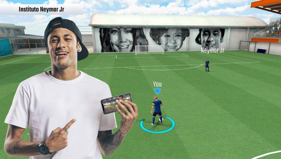 Com presença do seu Instituto, Neymar lança game de celular