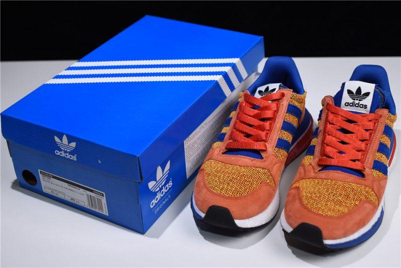 Dragon Ball Z x adidas ZX500 RM Boost Son Goku 8 MKT Esportivo