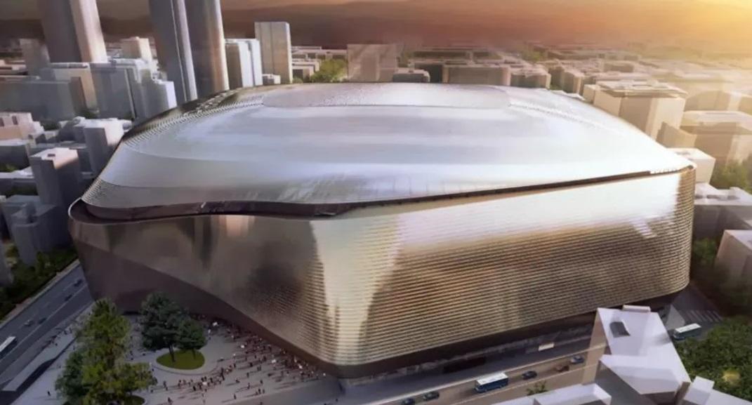 Por € 400 milhões, Real Madrid aprovará projeto de modernização do Bernabéu