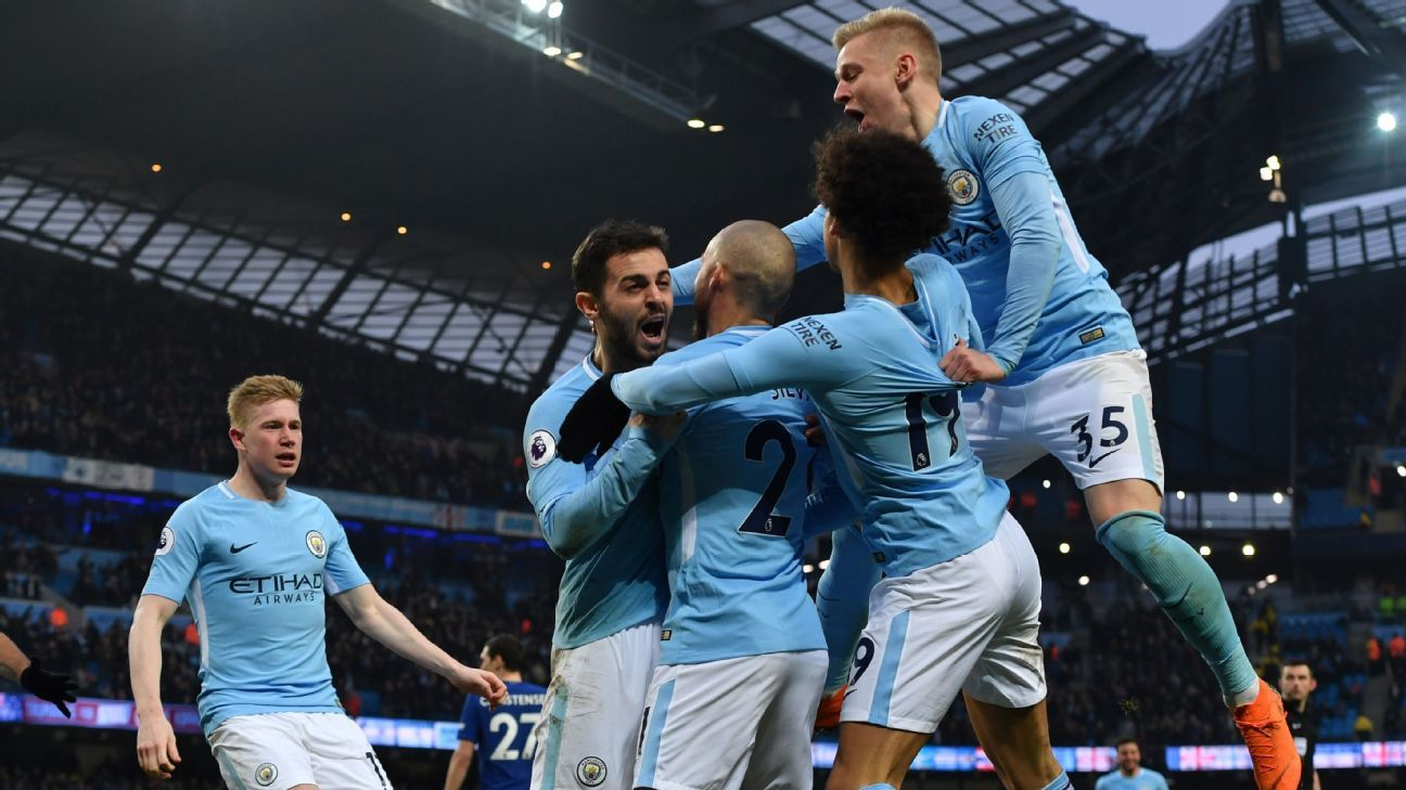 Manchester City apresenta faturamento recorde em relatório de 2017/2018