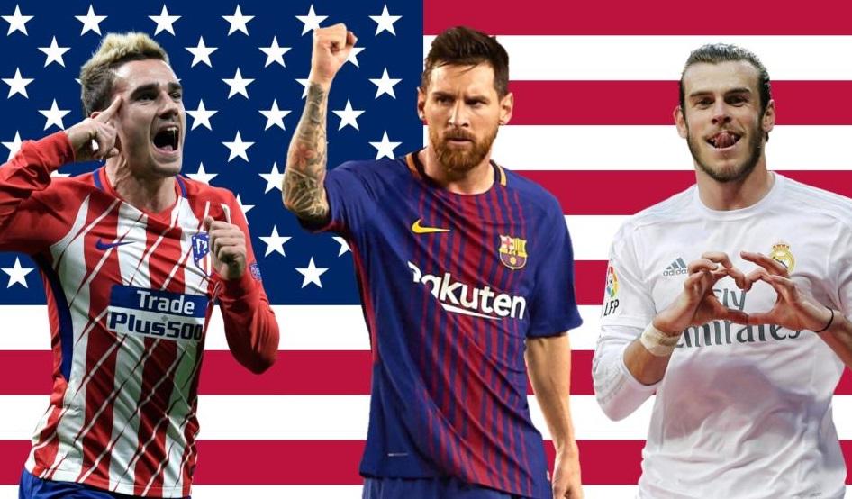 LaLiga marca data e escolhe clubes que jogarão nos Estados Unidos