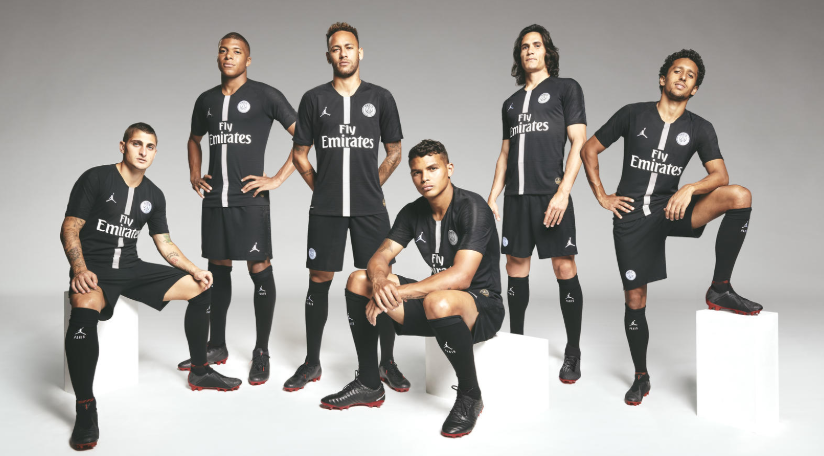Air Jordan vestirá Paris Saint-Germain na Champions League