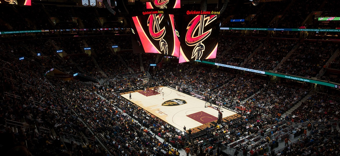 Sem LeBron James, Cavaliers diminuirá capacidade da Quicken Loans Arena