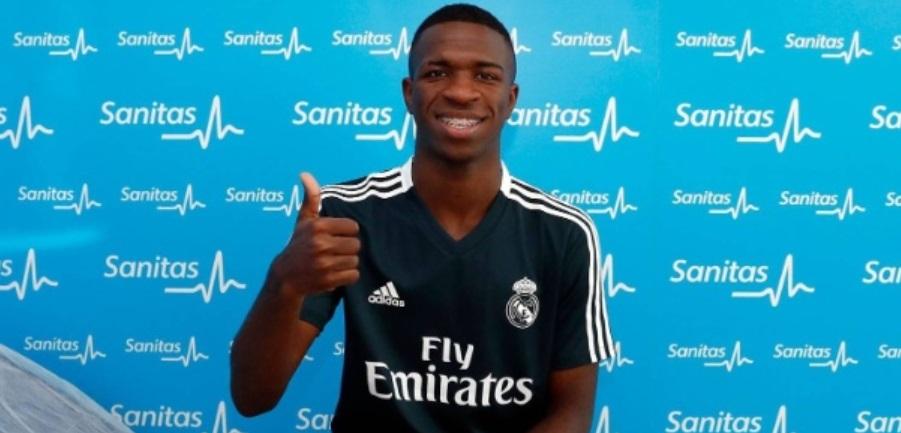 Destaque em apresentações de reforços, Sanitas renova com o Real Madrid
