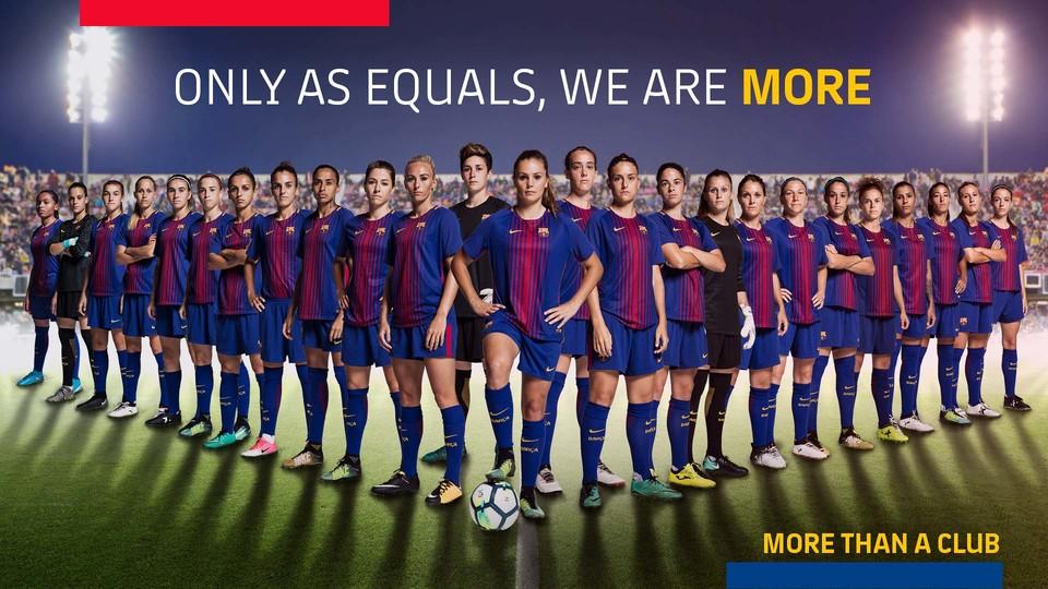 Barcelona quer colocar time na liga de futebol feminino dos EUA