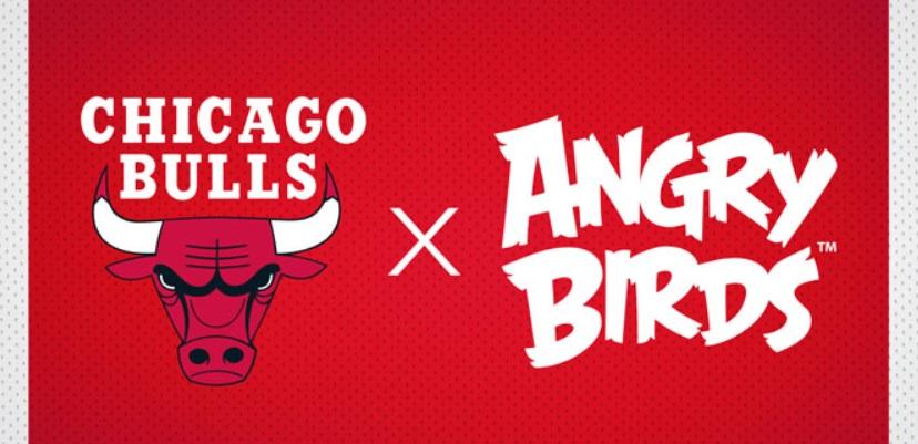 Rovio, produtora de Angry Birds, é a nova patrocinadora do Chicago Bulls