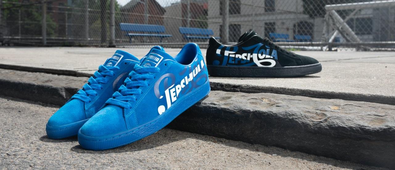 Puma lança coleção de tênis em parceria com Pepsi