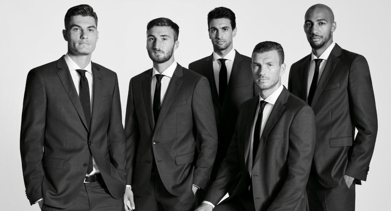 Hugo Boss renova parceria com AS Roma até o final da temporada