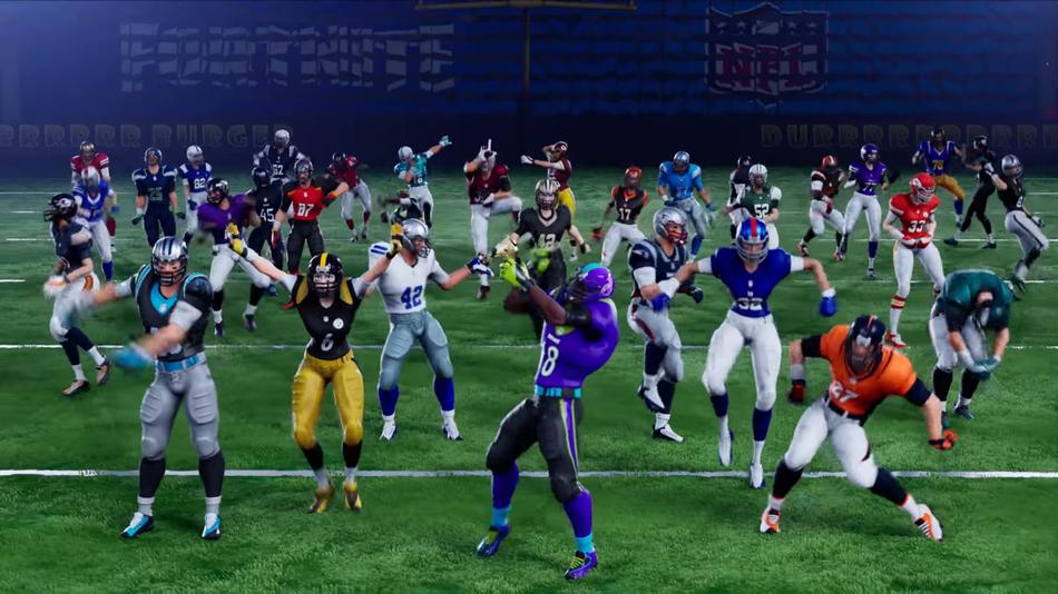 Empresa responsável por Fortnite anuncia parceria com a NFL
