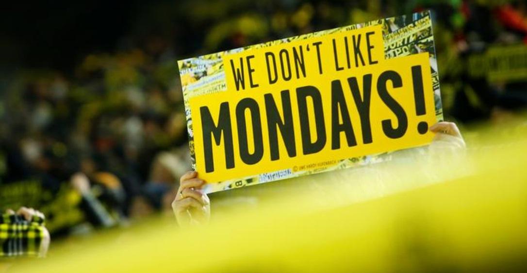 Bundesliga atende torcedores e vai abolir jogos de segunda-feira
