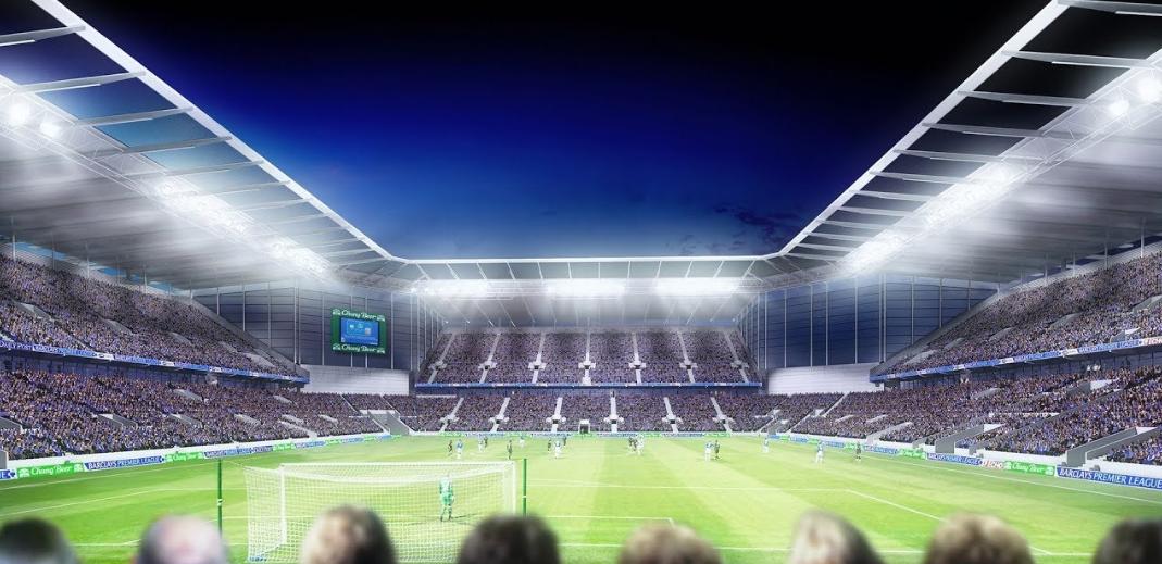 Everton detalha planos de construir um novo estádio