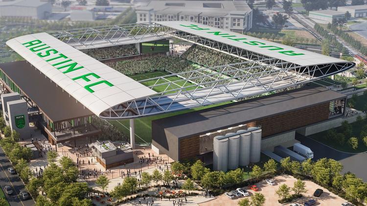 Futura equipe da MLS, Austin FC apresenta projeto de arena multiuso