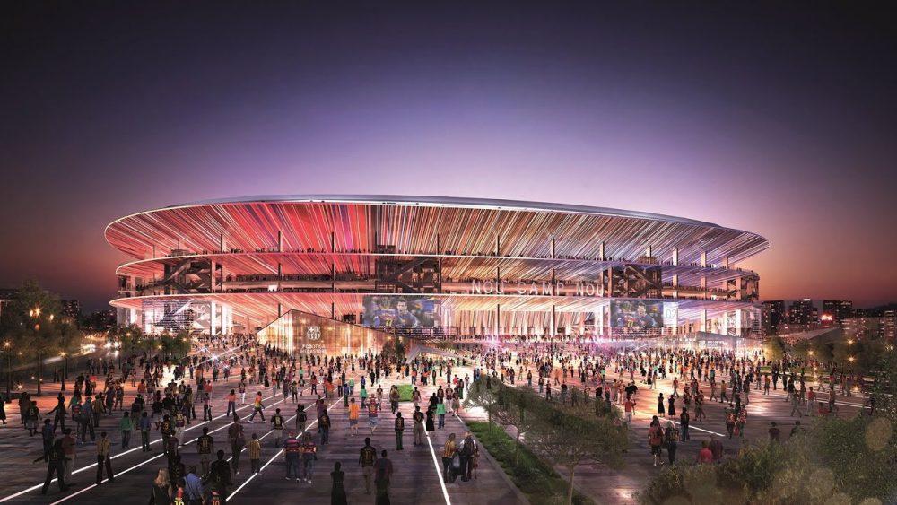 Holding holandesa é especulada para o naming rights do Camp Nou