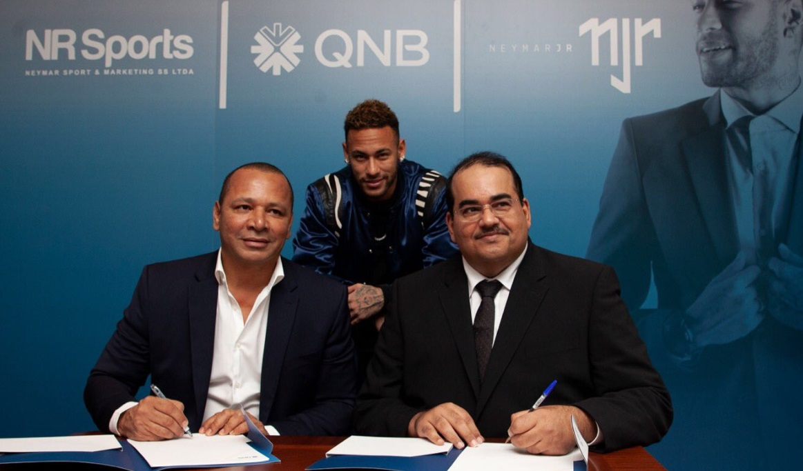 Neymar é o novo embaixador global da Qatar National Bank