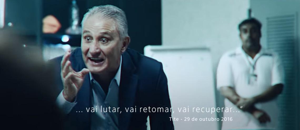 Recordista de aparições, Tite se arrepende de comerciais feitos antes da Copa
