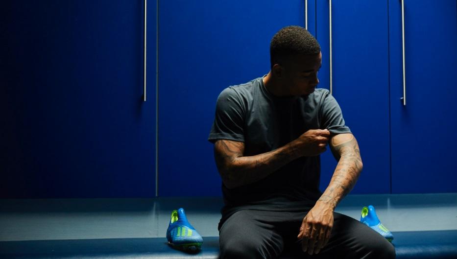 Juntos desde 2015, Gabriel Jesus e Adidas renovam patrocínio