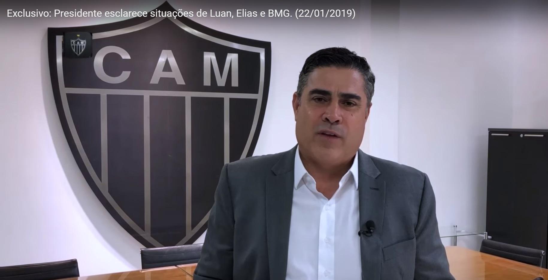 Atlético Mineiro oficializa BMG como novo patrocinador máster