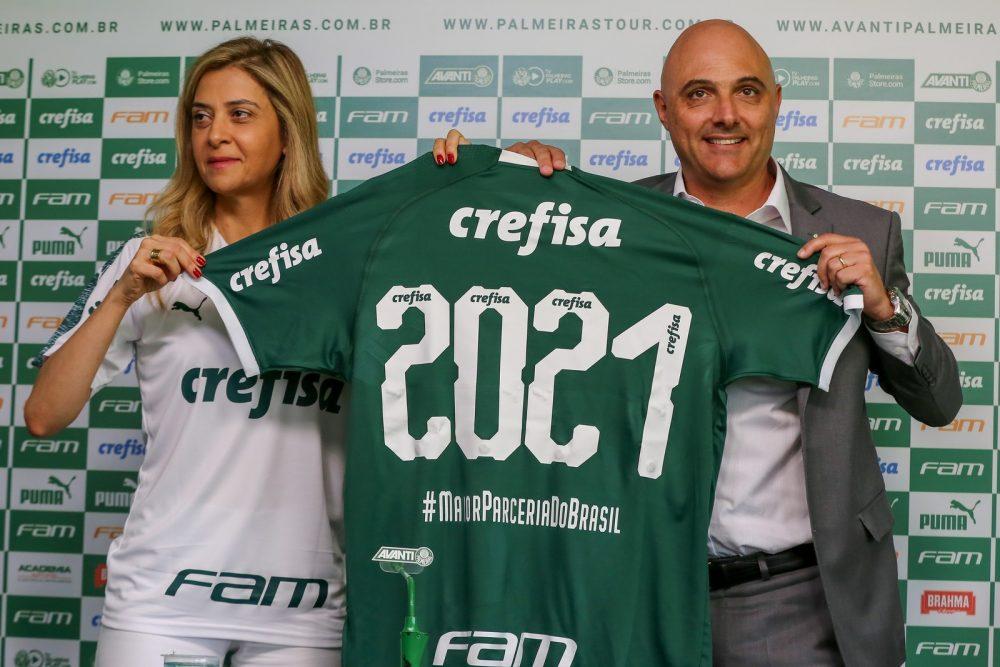 Crefisa e FAM renovam, e Palmeiras segue com a camisa mais valiosa do país
