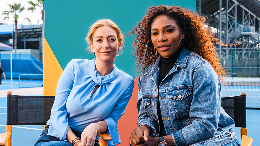 Serena Williams é a nova embaixadora do aplicativo Bumble