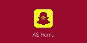 Após Twitter, AS Roma fecha parceria de conteúdo com Snapchat