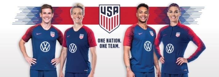 Volkswagen é a nova parceira da seleção norte-americana de futebol