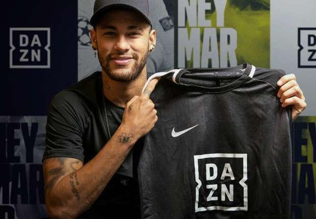 Neymar é o novo embaixador global da DAZN