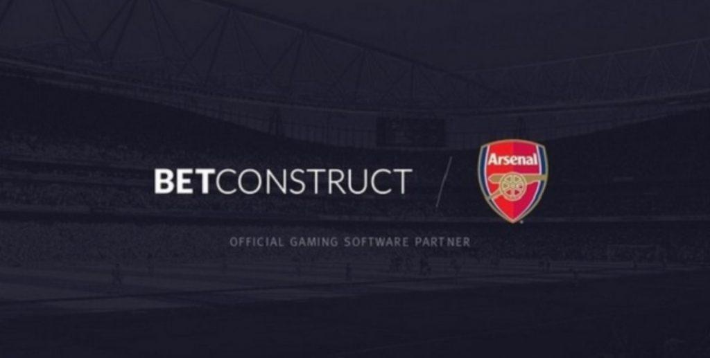 Arsenal anuncia BetConstruct como novo parceiro oficial de jogos