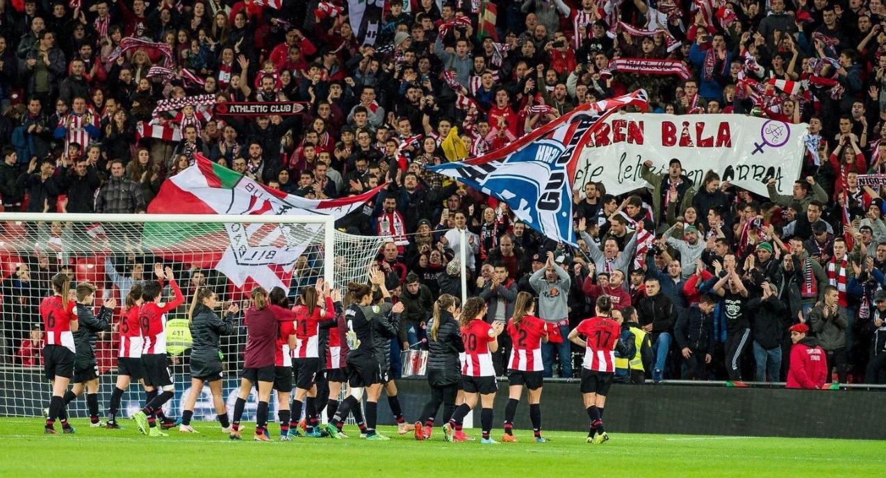Athletic Bilbao faz história e estabelece novo recorde no futebol feminino