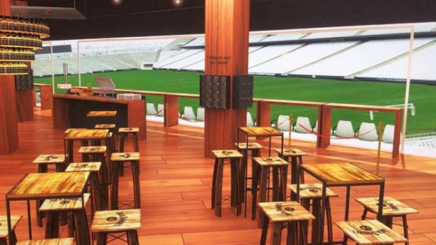 Corinthians terá piscina e espaço de entretenimento em camarote da Arena